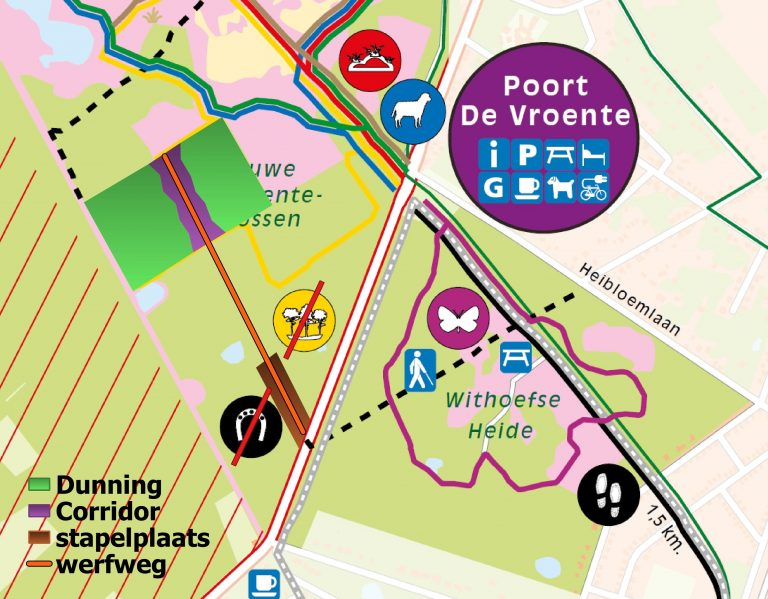 2021_dunning Nieuwe Gemeentebossen kaart